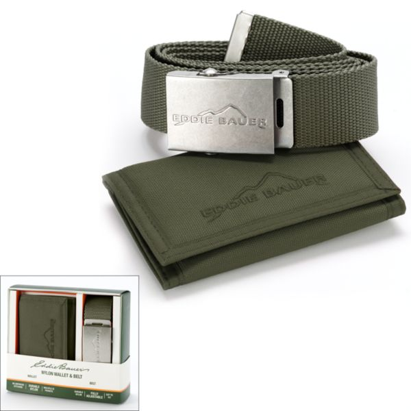 Kohls.com Eddie Bauer Eddie Bauer Belt and Wallet Gift Set ...