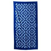 The Big One Geometric Beach Towel