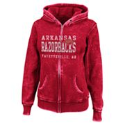 Arkansas Razorbacks Sport Princess II Burnout Fleece Hoodie - Women