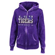 LSU Tigers Sport Princess II Burnout Fleece Hoodie - Women