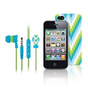 Merkury Innovations Riviera Amalfi iPhone 4 Headset and Case