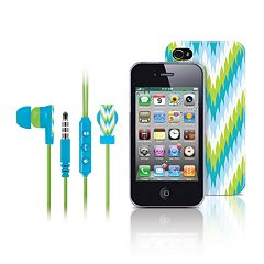 Merkury Innovations Riviera Amalfi iPhone 4 Headset& Cell Phone Case