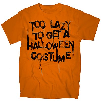 Too Lazy Halloween Tee - Men