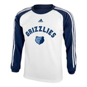 adidas Memphis Grizzlies Speedwick Performance Tee - Boys 8-20