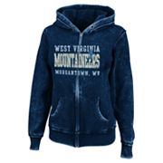 West Virginia Mountaineers Sport Princess II Burnout Fleece Hoodie - Women