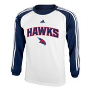 adidas Atlanta Hawks Speedwick Performance Tee - Boys 8-20