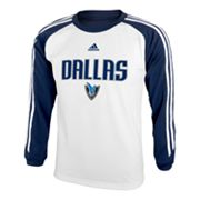 adidas Dallas Mavericks Speedwick Performance Tee - Boys 8-20