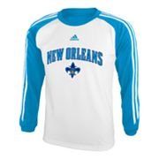 adidas New Orleans Hornets Speedwick Performance Tee - Boys 8-20
