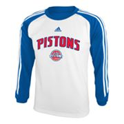 adidas Detroit Pistons Speedwick Performance Tee - Boys 8-20