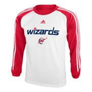 adidas Washington Wizards Speedwick Performance Tee - Boys 8-20