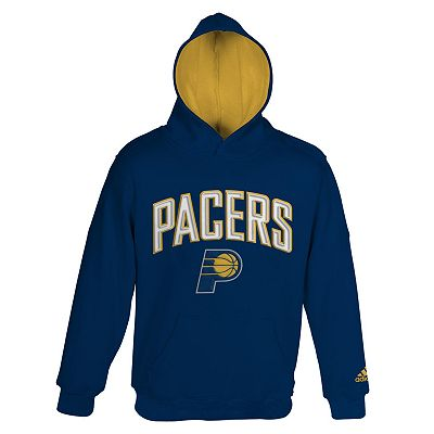 adidas Indiana Pacers Fleece Hoodie - Boys 8-20