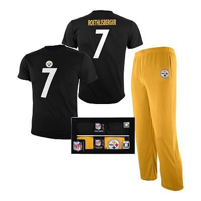 Pittsburgh Steelers Ben Roethlisberger Pajama Set - Boys 8-20