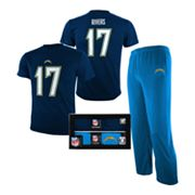 San Diego Chargers Philip Rivers Pajama Set - Boys 8-20