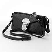 Dana Buchman Pattie Patent Cross-Body Bag