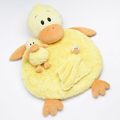 Bestever Duck Plush Play Mat Set