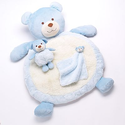 Bestever Bear Plush Play Mat Set