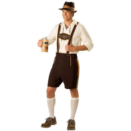 Bavarian Guy Costume - Adult