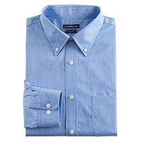 Men's Croft & Barrow® Classic-Fit Easy Care Button-Down Collar Dress Shirt