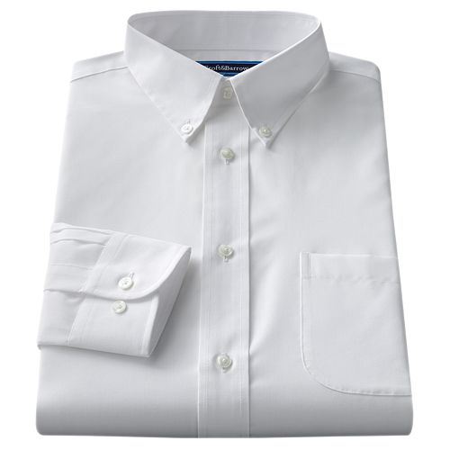 Men's Croft & Barrow® Classic Fit Easy Care Button Down Collar Dress Shirt