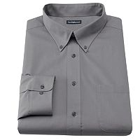 Men's Croft & Barrow® Slim-Fit Solid Easy Care Button-Down Collar Dress Shirt