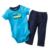 Carter's Grandma's Little Dude Bodysuit and Pants Set - Baby