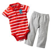 Carter's Prop of Mommy Polo Bodysuit and Pants Set - Baby