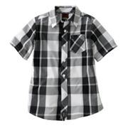 Tony Hawk Plaid Woven Button-Down Shirt - Boys 4-7x