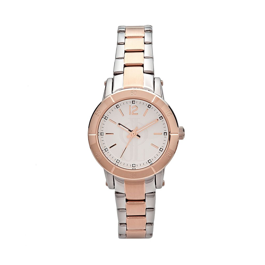 Jennifer Lopez Women's Two Tone Stainless Steel Watch