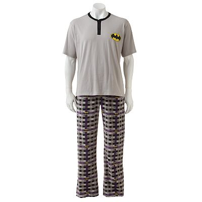 Batman Microfleece Sleepwear Set