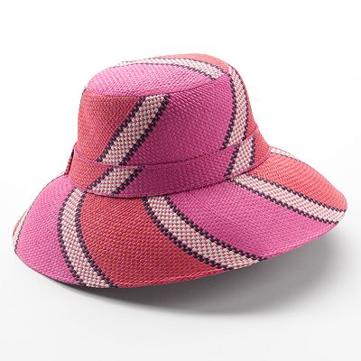Apt. 9 Candy Stripe Shadowbrim Hat