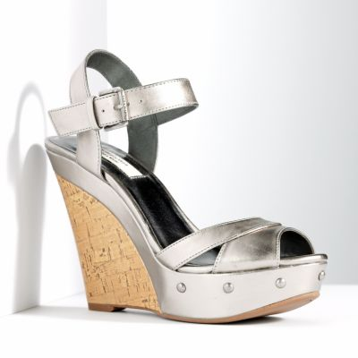 Simply Vera Vera Wang Platform Wedge Sandals - Women