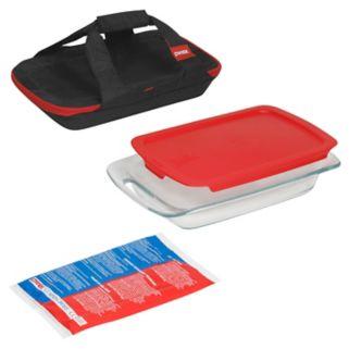 Pyrex 3-qt. Cooking Solved 4-pc. Portables Set