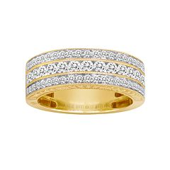 14k Gold 1 ctT.W. IGL Certified Diamond Wedding Ring