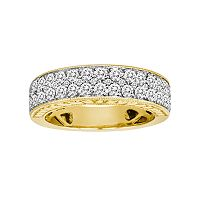 14k Gold 1-ct. T.W. IGL Certified Diamond Wedding Ring