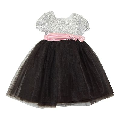 Blueberi Boulevard Sequined Ballerina Dress - Girls 4-6x