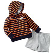 Carter's Striped Cardigan and Shorts Set - Baby