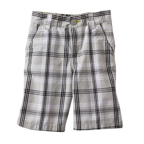 Tony Hawk Plaid Shorts - Boys 4-7x