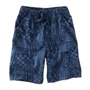 Jumping Beans Geometric Canvas Shorts - Boys 4-7x