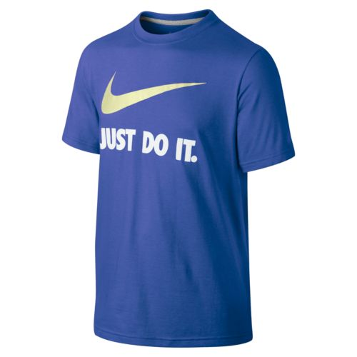 Nike Just Do It Swoosh Tee - Boys 8-20