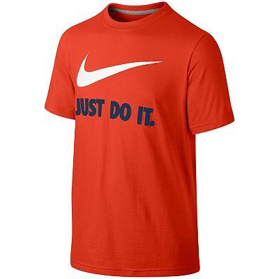 Nike Just Do It Swoosh Tee - Boys 8-20