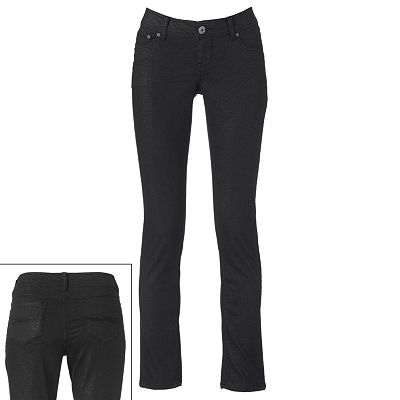 SO Glitter Color Skinny Jeans - Juniors