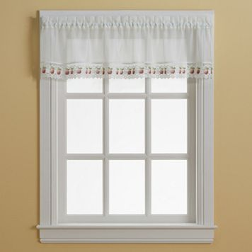 Apple Orchard Window Valance