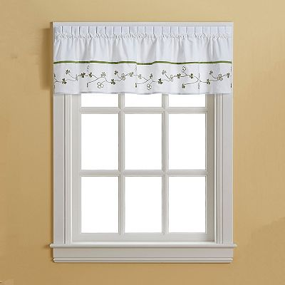CHF and You Clover Tailored Valance - 58'' x 14''