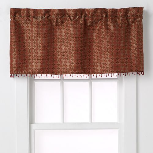 CHF Mallorca Tailored Window Valance