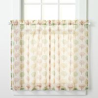 CHF Orchard Tier Curtain Pair - 56'' x 36''