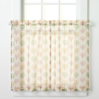 CHF 2-pack Sheer Orchard Tree Tier Set - 56'' x 36''