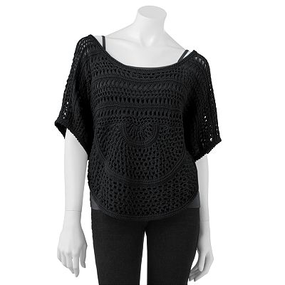 Mudd Openwork Sweater - Juniors