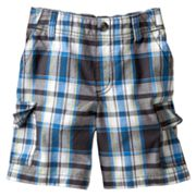 SONOMA life + style Plaid Cargo Shorts - Toddler
