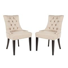 Safavieh 2-piece Abby Tufted Side Chair Set
