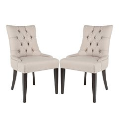 Safavieh 2 pc Abby Tufted Side Chair Set